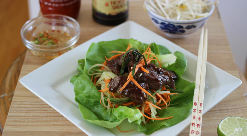 Stir-Fried Vietnamese Beef Salad with Thai Basil and Lime ...